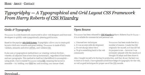 CSS框架